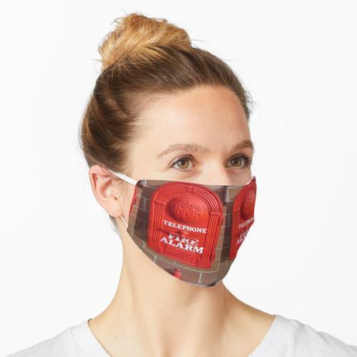 Feueralarm Maske