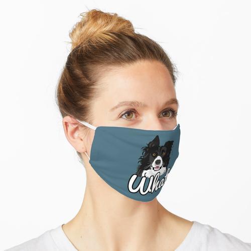 Border Collie Welcher Aufkleber Maske