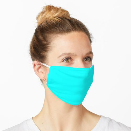 Günstigstes Solid Cyan Aqua Farbe Maske