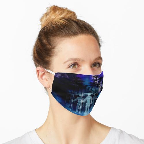 Einheimische Maske