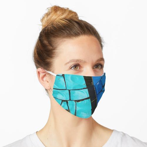 Dekoriert Maske