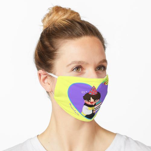 BTS J-Hope Geburtstagsbild (FANART) Maske