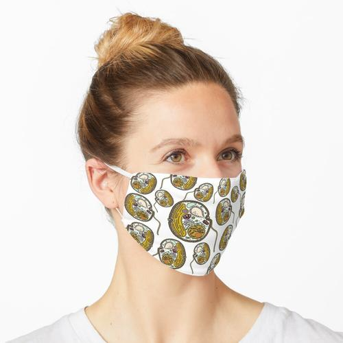 Dinoflagellate Druck Maske