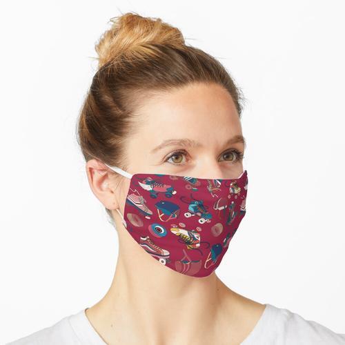 Rollschuhlaufen Maske