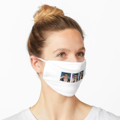 Bad Bunny 3 Fotopaket Maske