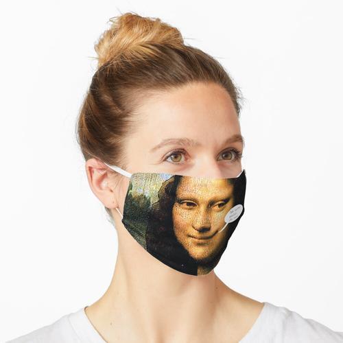 Grinsende Mona Maske