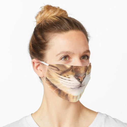 glattes Papier (220 g / m2) Maske
