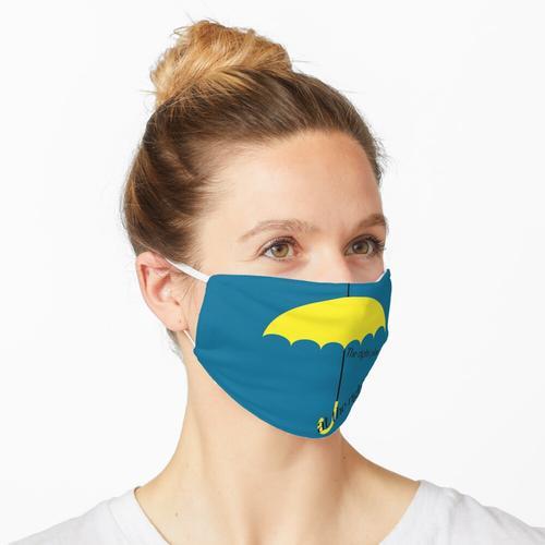 Richtiger Ort, richtige Zeit Maske