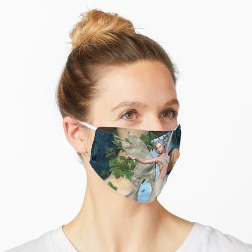 Porzellan-Fee Maske