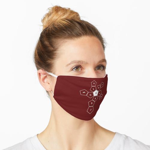 Abgerolltes D12 Maske