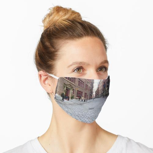 Steinstraße in New York Maske