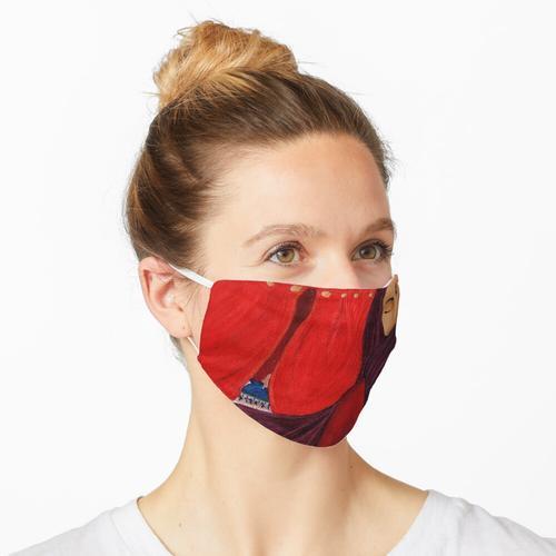 Frauen des roten Zeltes Maske