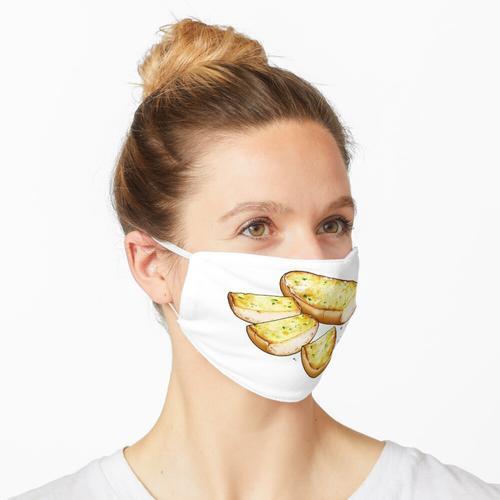 Knoblauchbrot Maske