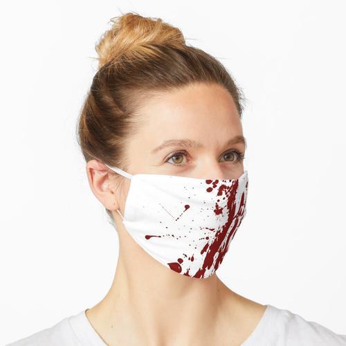 Blutflecken Maske