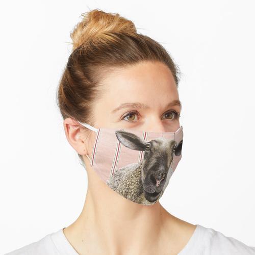 das Schaf im Wohnzimmer Maske