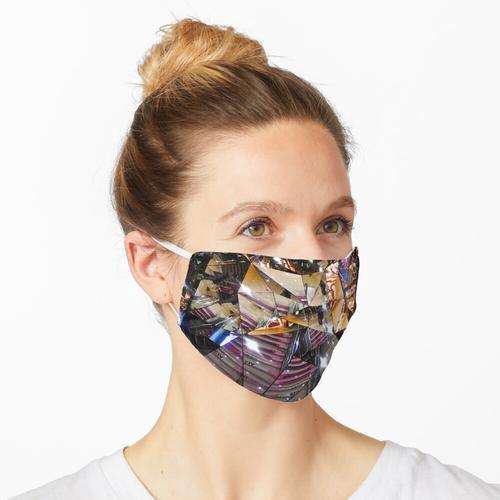 Rolltreppe in eine neue Welt Maske