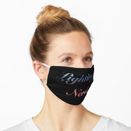 Beleuchtung Nerd Maske
