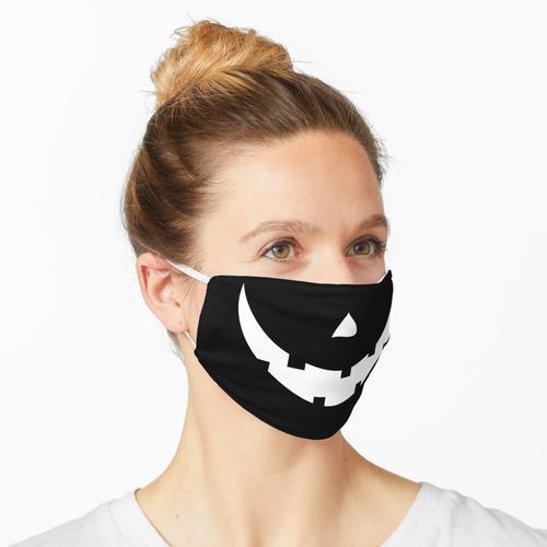 Lustiger Kürbis Jack O Laternenmund Maske