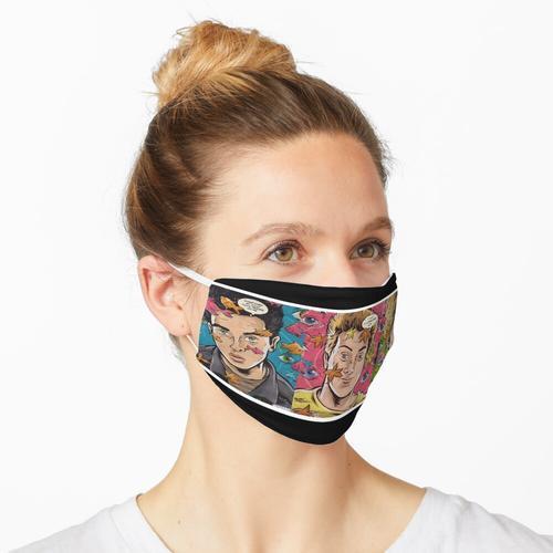 Billie Joe - Korbkoffer Maske