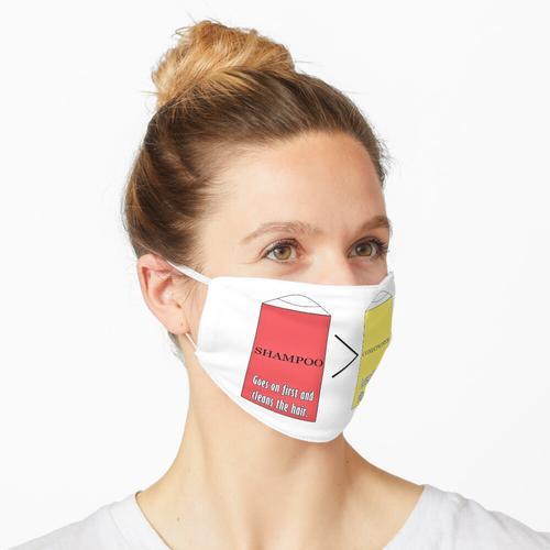 Billy Madison: Shampoo gegen Conditioner (Team Shampoo) Maske