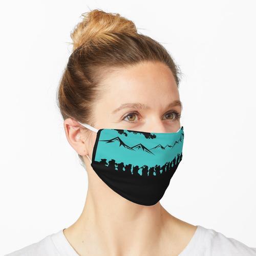 Die Firma Blau Maske