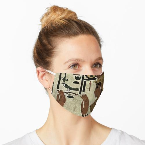 Nefertari-Stempel Maske