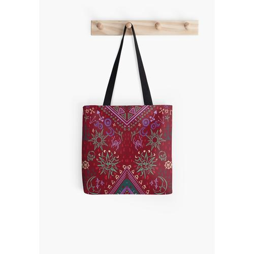 Mollymauk's Coat, Front Panels All Over Print Tote Bag