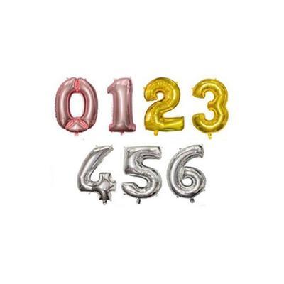 Ballon anniversaire : Chiffre 4 ...