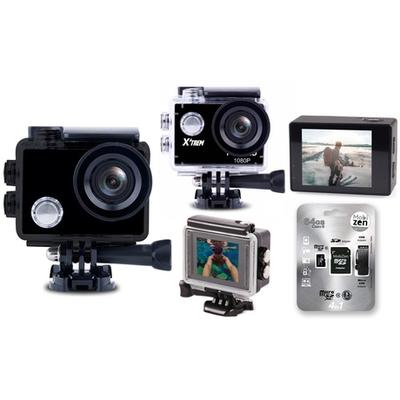 Caméra de sport HD-720P - Écran LCD / Sans carte mémoire