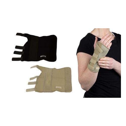 Handgelenkstütze: linkes und rechtes Handgelenk / Creme/ Gr. L