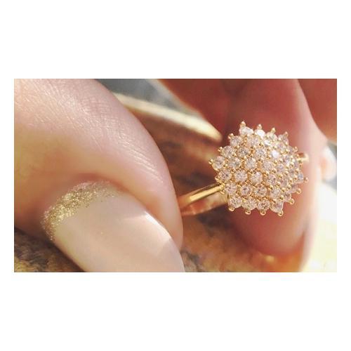 Ah! Jewellery Gold-Ring: Gr. J-K