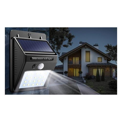 2x Globrite Solar-Lampe mit Bewegungsmelder