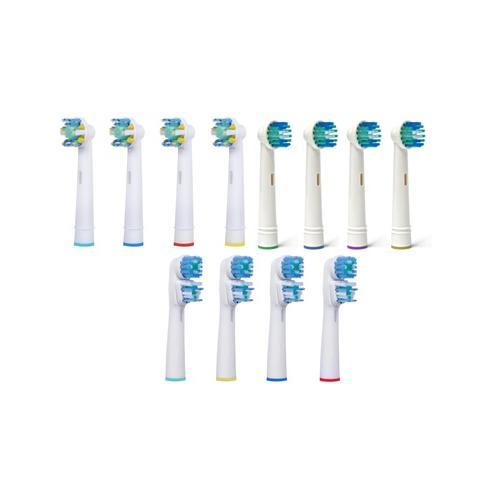 Ersatz-Zahnbürstenköpfe: Floss / 16er-Pack