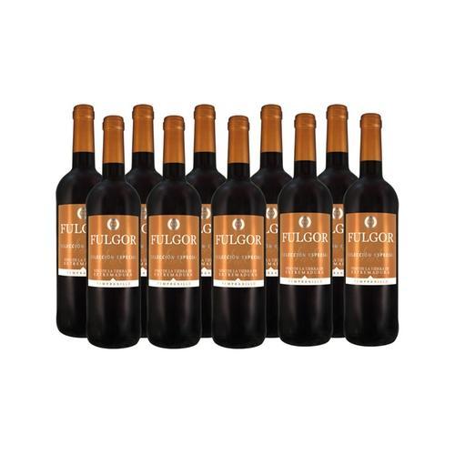 10 Flaschen Viñaoliva Tempranillo Fulgor Rotwein