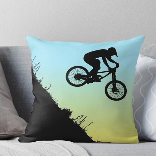 Mountainbike Extream bergab Kissen