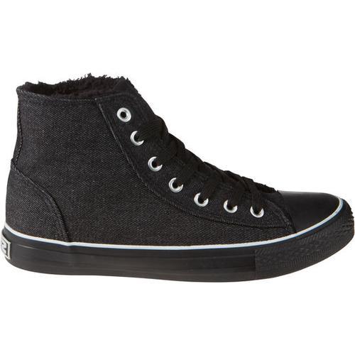 Schuh gefüttert, schwarz, Gr. 40