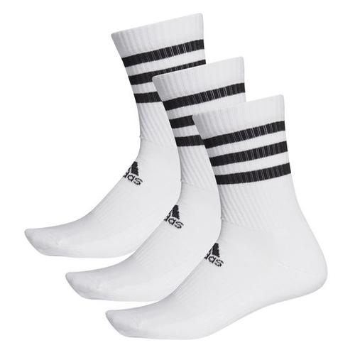 adidas Socken 3er-Pack, weiß, Gr. 37 - 39