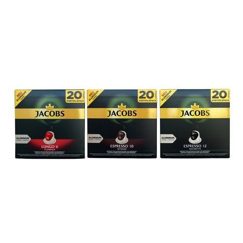 Röstkaffee : 6x Jacobs Espresso Ristretto - Intensität 12 - 20 Nespresso