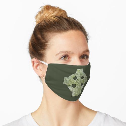 Granit-keltisches Kreuz Maske