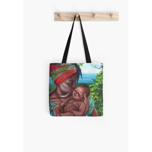 Jamaika - Karte 39 - Mutter und Kind Tasche