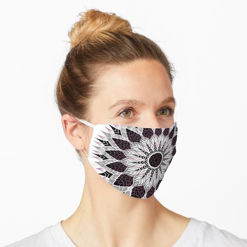 Chrysantheme Maske