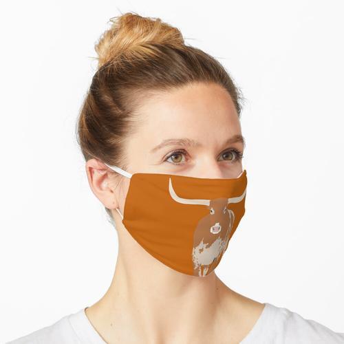 ut Longhorn Tier Maske