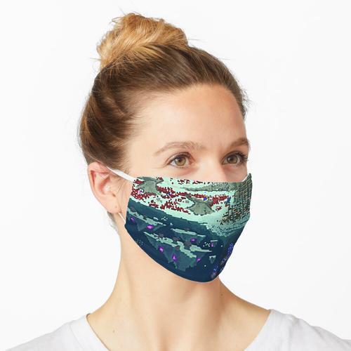 Subnautica-Querschnitt Maske