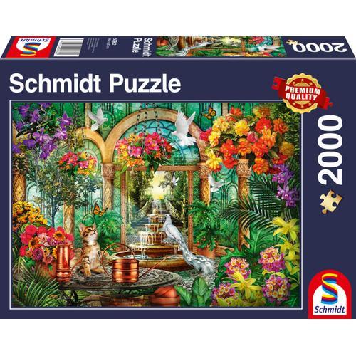 Schmidt Spiele Puzzle Atrium, Made in Germany bunt Kinder Ab 6-8 Jahren Altersempfehlung