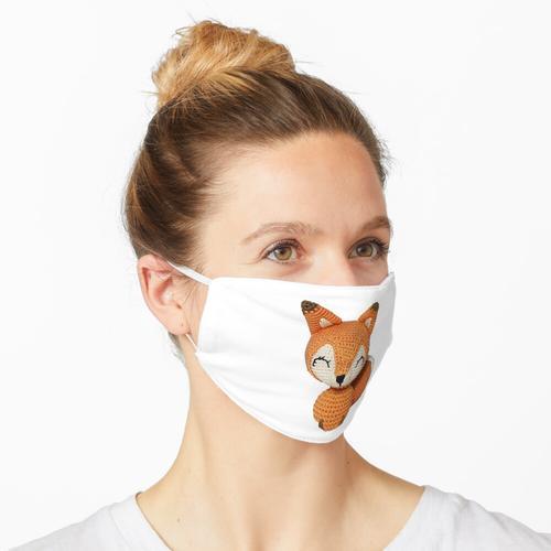 Amigurumi Fox Maske