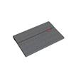 Lenovo Yoga Smart Tab Grey Sleeve with Protective Film This sleeve is designed to protect your tablet with modern material finish and brimless style. Protective film is provided with the case to guard against scratches on the screen. You can carry and use your tablet with pride.