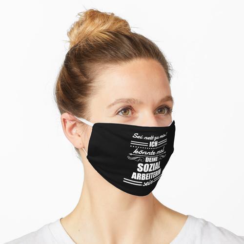 Sozialarbeiterin Sozialarbeit Sozialarbeiter Maske