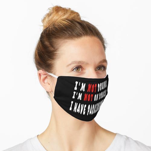 Ich habe Parkinson Maske