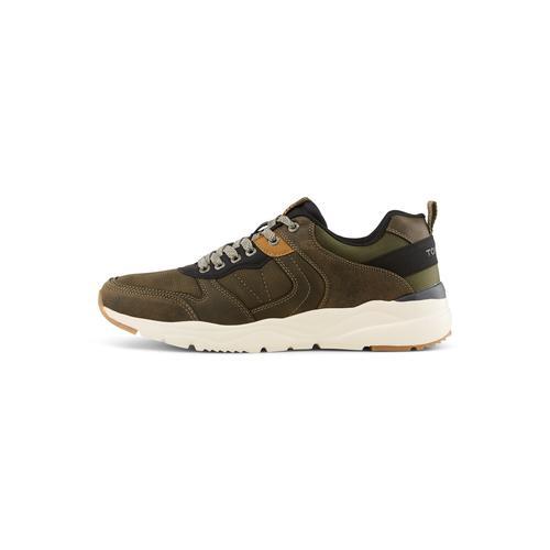 TOM TAILOR Herren Sneaker mit breiter Sohle, grün, Gr.41