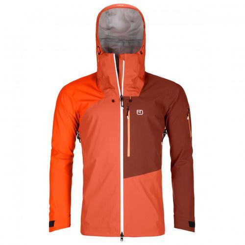 Ortovox - 3L Ortler Jacket - Regenjacke Gr M rot